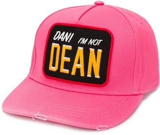 DSQUARED2 I'm Not Dean 6-panel cap