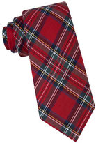 Lord & Taylor BOYS 8-20 Royal Stewart Tartan Silk Tie