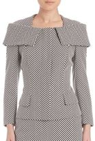 Escada Full Sleeve Herringbone Jackets