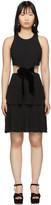 Proenza Schouler Black Cut-Out Dress