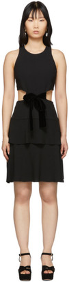 Proenza Schouler Black Cut-Out Dress