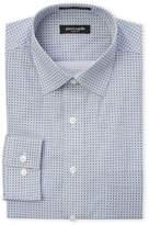 Pierre Cardin Geometric Print Slim Fit Dress Shirt