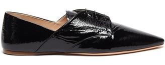 Miu Miu Patent leather oxford shoes