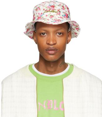 Off-White Landlord Floral Logo Bucket Hat