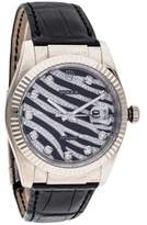 Rolex Zebra Datejust Watch
