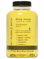 Deep Steep Rosemary Mint Bubble Bath by 17oz Foam Bath)