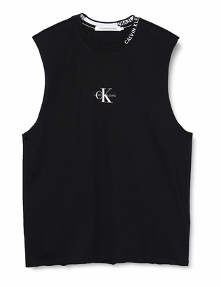 Calvin Klein Jeans Men's Center Monogram Tank Underwear