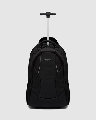 Samsonite Business - Black Backpacks - Casual Wheeled Laptop Backpack - Size One Size at The Iconic