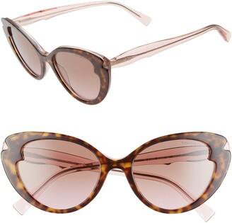 Tiffany & Co. 54mm Cat Eye Sunglasses