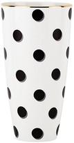 "Kate Spade Daisy Place Dots Vase, 9"""