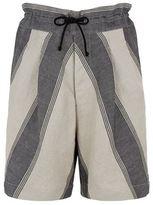 Vivienne Westwood Linen Stripe Samurai Shorts