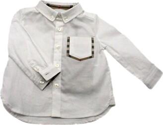 Burberry Shirt With Check Pocket