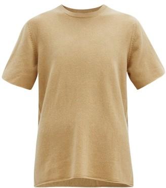 Extreme Cashmere No. 64 Oversized Stretch-cashmere T-shirt - Camel