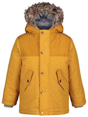 George Mustard Yellow 3 in 1 Shower Resistant Parka