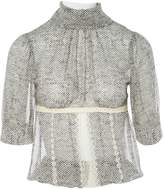 Kristina Ti Ecru Silk Top for Women
