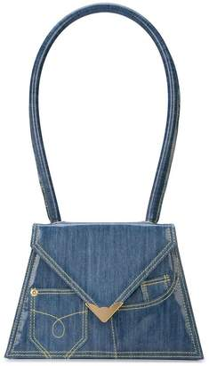Amélie Pichard flat denim bag