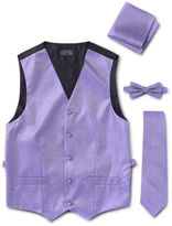 Asstd National Brand Tuxedo Vest 4-Piece Set