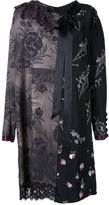 Marc Jacobs floral patchwork shift dress - women - Rayon - 6