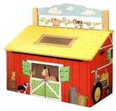 The Well Appointed House Teamson Design Happy Farm Toy Box for Kids