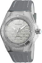 Technomarine TECHNO MARINE Techno Marine Mens Gray Strap Watch-Tm-115153