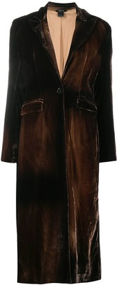Avant Toi Slim Fit Trench Coat