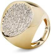 Antonini 18K Yellow Gold Matera Extra Large Pavé Silvermist Diamond Ring