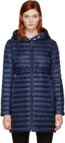 Moncler Navy Down Barbel Jacket
