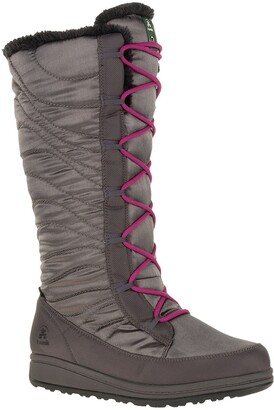Kamik Starling Tall Waterproof Faux Shearling Lined Snow Boot