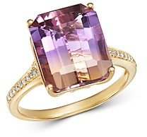 Bloomingdale's Ametrine & Diamond Ring in 14K Yellow Gold - 100% Exclusive