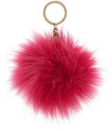 Forever 21 FOREVER 21+ Faux Fur Pom Pom Keychain