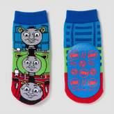 Thomas & Friends Toddler Boys' Slipper Socks- Red