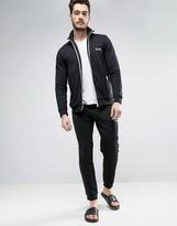 BOSS Black By Hugo Cuffed Joggers In Regular Fit Black