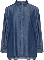 navabi Plus Size Denim look shirt