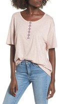 Socialite Women's Hook-And-Eye Tee