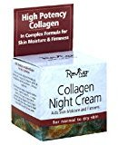 Reviva Labs Collagen Night Cream for Normal to Dry Skin., 1.5-Ounces (Pack of 2)