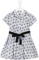 Armani Junior floral print dress - kids - Cotton - 6 yrs