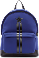 Givenchy Blue Neoprene Backpack