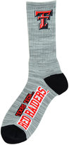 For Bare Feet Texas Tech Red Raiders RMC 504 Crew Socks