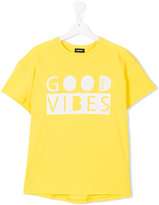 Diesel Good Vibes T-shirt - kids - Cotton - 16 yrs