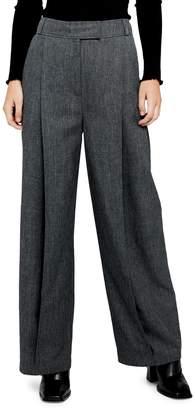 Topshop Wide-Leg Trousers