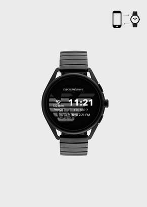 Emporio Armani Smartwatch 3 Black Stainless Steel