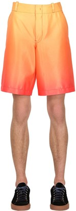 Sies Marjan Gradient Printed Stretch Shorts