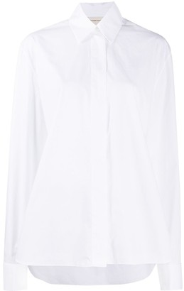 Alexandre Vauthier Loose Fit Classic Collar Shirt