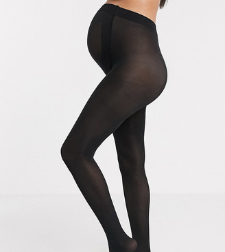 Asos DESIGN Maternity new improved fit 80 denier black tights