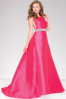 Jovani A-Line Backless Prom Dress 46501