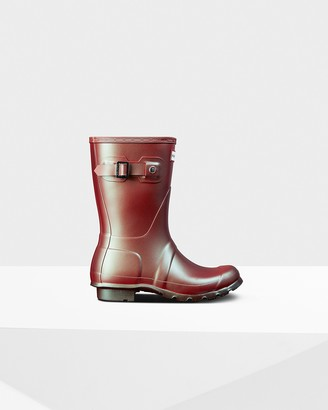Hunter Women's Original Nebula Short Rain Boots