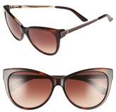 Ted Baker Women's 57Mm Cat Eye Sunglasses - Tortoise