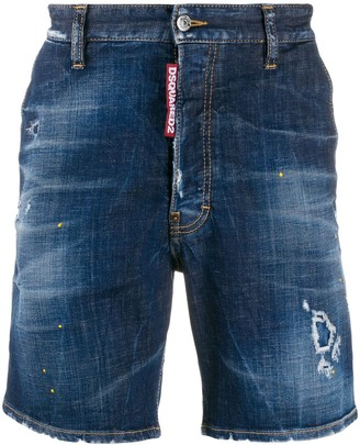 DSQUARED2 Straight-Fit Shorts