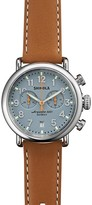 Shinola The Runwell Chronograph Tan Leather Strap Watch, 41mm