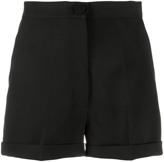 Loulou High-Waisted Pleated Shorts